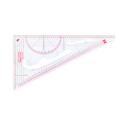 Multifunction Clothes Triangle Ruler Scale Garment Design Drawing Essential Tool