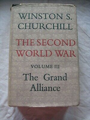 Vintage HB Winston Churchill The Second World War Vol.3 The Grand Alliance