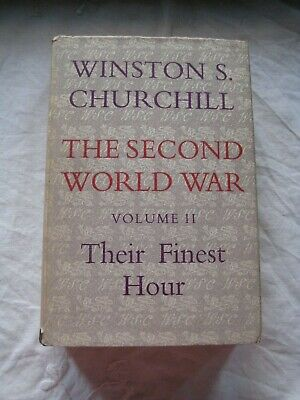 Vintage HB Winston Churchill The Second World War Vol.2 Their Finest Hour