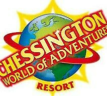 Chessington World of Adventure Tickets Saturday 10th Aug X 5 tickets MEAL DEAL