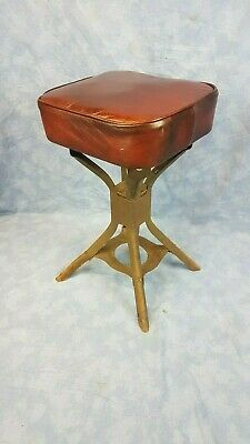 Vintage Industrial Evertaut Machinists Stool