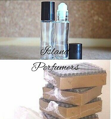 10 ml Clear Glass Roll-on Bottle with Black Cap Empty Essential Oil Roller Ball