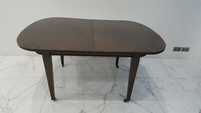 Dining Table with Casters