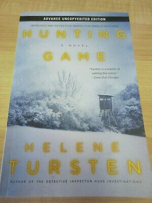Hunting Game by Helene Tursten ARC Uncorrected Proof Paperback