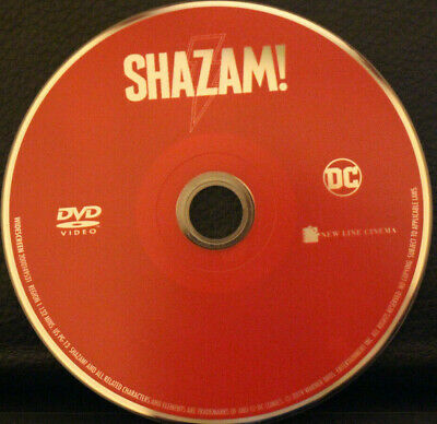 SHAZAM! DVD Disc Only In A Jewel Case (2019)