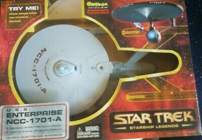 2003 Art Asylum STAR TREK USS Enterprise NCC-1701-A, New in box, 16 inch model