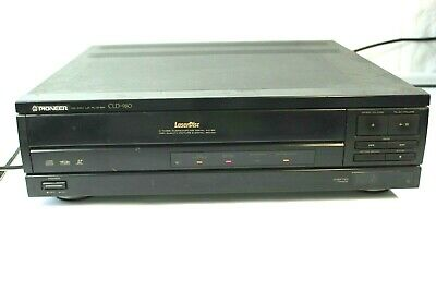 Pioneer CLD-980 LaserDisc Player with CU-CLD034 Remote & 23 Movies Tested Works