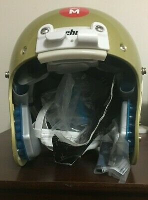 Schutt XP Pro Adult Football Helmet Lt. Mettalic Gold Medium NEW