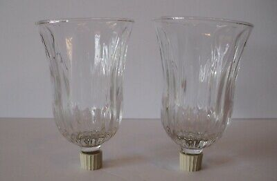 HOME INTERIORS  STARLIGHT CLEAR  VOTIVE  CUP w// rubber grommet