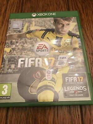 Xbox one Fifa 17 game  very good condition