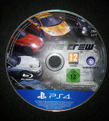 The CREW (Sony PlayStation 4, PS4) DISC ONLY! READ DESCRIPTION!