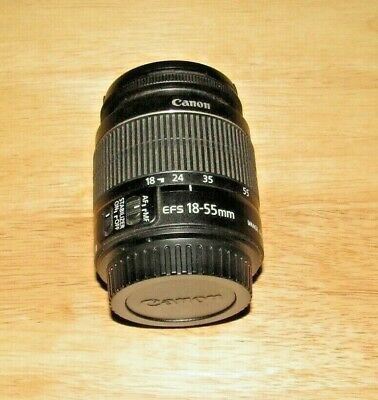 Canon Zoom Lens Ef-S 18-55Mm 1:3.5-5.6 Is Works Great