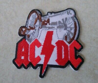 AC DC Band Logo Embroidered Patch Metal Music Patches Collection