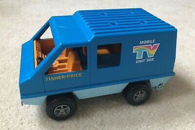 VINTAGE 1977 FISHER Price Adventure People #309 TV Action