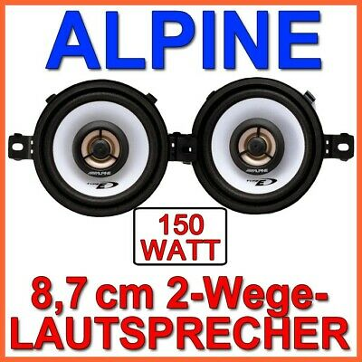 Alpine SXE-0825s 3 7/16in Speaker 8,7cm Carhifi Car Boxing 2-Wege Koaxe New