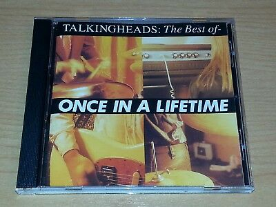 Talking Heads Once In A Lifetime The Best Of Cd Vgc.