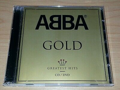Abba Gold Greatest Hits Cd / Dvd 2004 2 Discs Vgc.