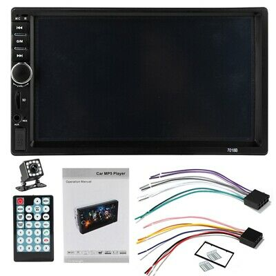 7 DOUBLE 7018B 2 DIN Car GPS FM Stereo Radio MP5 Player Touch Screen