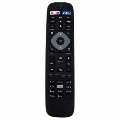 Replacement Remote Control Controller For Philips Nh500Up 4K Uhd Smart Tv Black