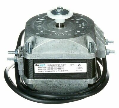 EBM-Papst Q-SERIES REFRIGERATION FAN MOTOR 16W 1-Phase 4-Poles 1500mm Lead