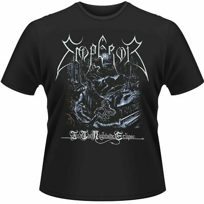 Official Emperor T Shirt In The Nightside Eclipse Black Mens Classic Rock Tee