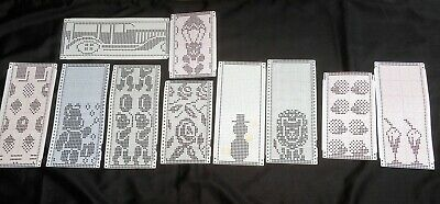 Knitting Machine Pre-Punched Pattern Cards X 10