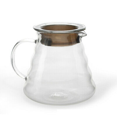 "V60 ""Clear"" Glass Range Coffee Server, 600ml O6M6"