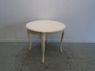 Laura Ashley Provencale Bistro Table In Ivory - QA0108191510