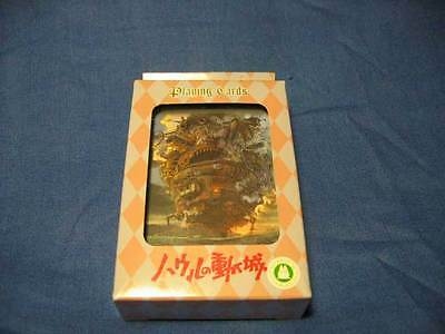 Howl's Moving Castle Playing Cards Studio Ghibli