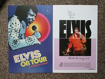 ELVIS PRESLEY Movie Posters - 'ELVIS on Tour & That's the Way it is new reprints