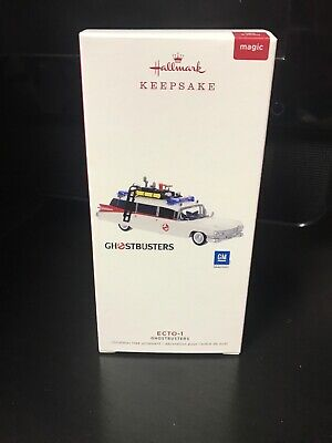 Hallmark Keepsake 2019 Ghostbusters ECTO-1 Ornament With Light and Sound