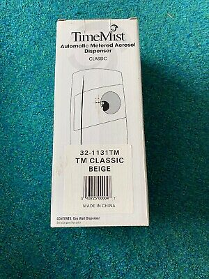 TimeMist Automatic Metered Aerosol Dispenser Classic Beige