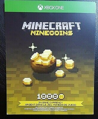 Minecraft 1000 Minecoins Xbox One - Digital Download - Read Description