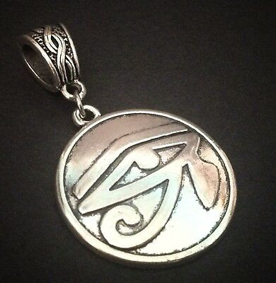 EYE OF HORUS_Pendant for Thick Chain / Charm Necklace_Egyptian Ra Ancient Symbol