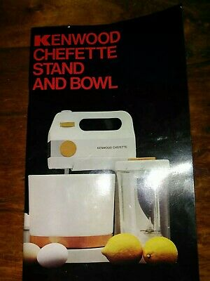 Kenwood chefette Stand And Bowl