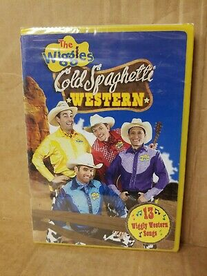 NEW The Wiggles Cold Spaghetti Western DVD MOVIE 13 wiggle songs and more