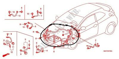 Im looking for A Wiring Harness Honda FN2 LHD