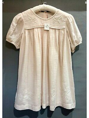 Bonpoint Embroidery Anglaise Cheesecloth Dress RRP £155 Size: Age 8 BNWT