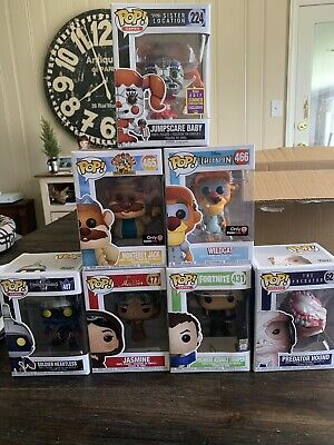 Funko Pop Huge Lot Gamestop Exclusive 2017 Summer Convention Disney Movies