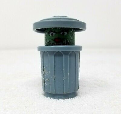 Vintage Fisher Price Little People Sesame Street Oscar the Grouch Figure