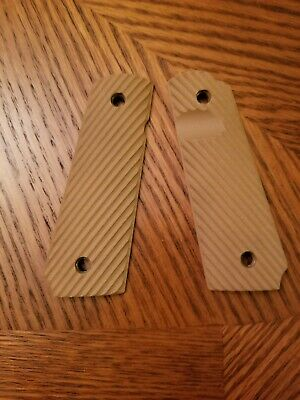 FITS 1911 FULL SIZE | VZ Grips - ETC FRAG Ambi Cut - Grippy/Smooth