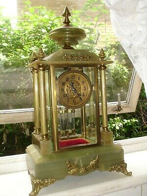 19Th Century 4 Glass Clock Regulator