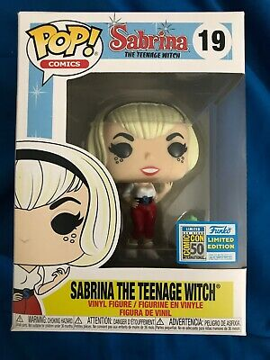 Funko POP SDCC Exclusive  Sabria the Teenage Witch Limited edition