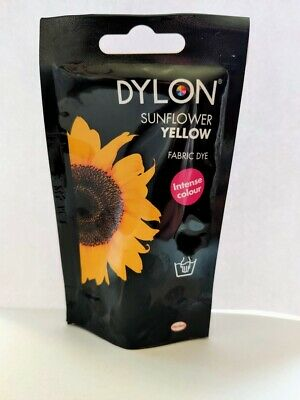 Dylon Intense Velvet Black Fabric and Clothes Hand Dye 50g