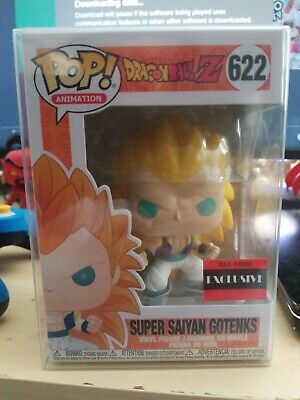 Funko Pop Dragon Ball Z Super Saiyan 3 Gotenks #622 Vinyl AAA Anime Exclusive