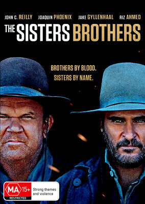 The Sisters Brothers  - DVD - NEW Region 4, 2