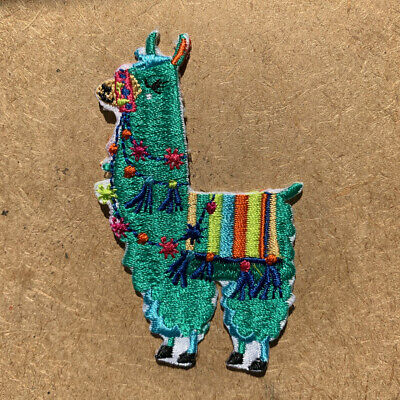 1pc Llama Tibet Nepal Embroidered Patch Cloth Iron On Applique sewing #1526