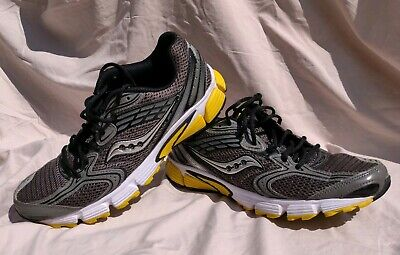 SAUCONY Liberate Running Shoes Athletic Gym Sneakers Gray & Black Men's Size 8.5
