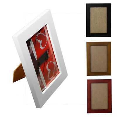 Wooden Photo Frame Wall Picture A4 Love Family Baby White Black Decorations NEW