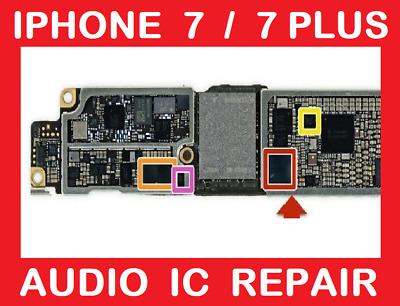 IPHONE 7 / 7 Plus Searching No Service Baseband Repair Service